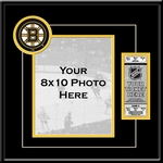 Boston Bruins 8x10 Photo Ticket Frame