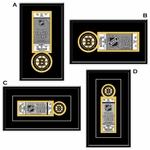 Boston Bruins Single Ticket Frame