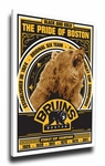 Boston Bruins Sports Propaganda Canvas Print