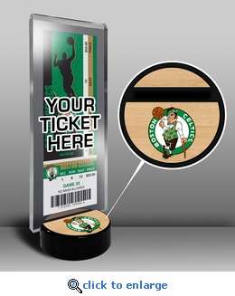 Boston Celtics Ticket Display Stand
