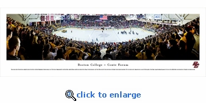 Boston College Eagles Hockey - Panoramic Photo (13.5 x 40)