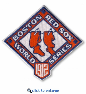 Boston Red Sox 1912 World Series Champions Commemorative Embroidered Patch