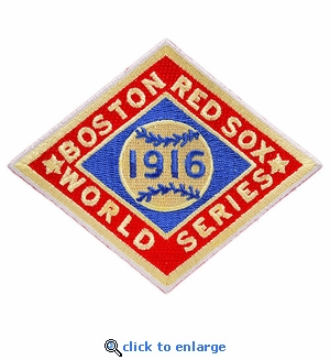 Boston Red Sox 1916 World Series Champions Commemorative Embroidered Patch