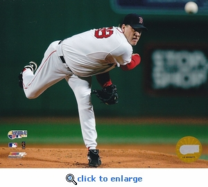 Boston Red Sox 2007 World Series Game 2 Curt Schilling 8x10 Photo