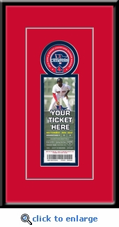 Boston Red Sox 2014 Opening Day / Banner Raising Single Ticket Frame