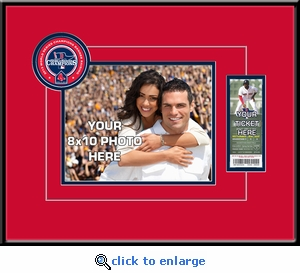 Boston Red Sox 2014 Opening Day / Banner Raising Your 8x10 Photo Ticket Frame