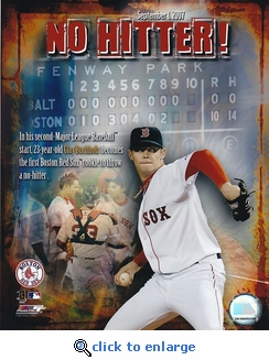 Boston Red Sox Clay Buchholz No-Hitter 8x10 Photo