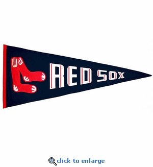 Boston Red Sox Cooperstown Wool Pennant (13 x 32)