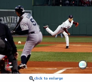 Boston Red Sox Dice K Fenway Park Debut 8x10 Photo