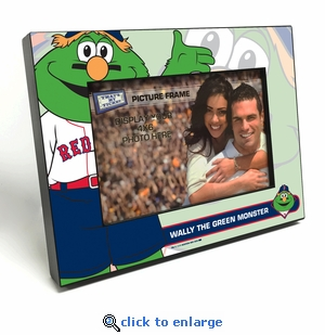 Boston Red Sox Mascot 4x6 Picture Frame - Wally The Green Monster