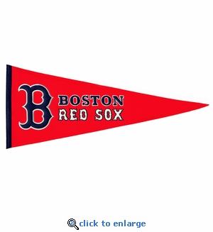 Boston Red Sox Traditions Wool Pennant (13 x 32)