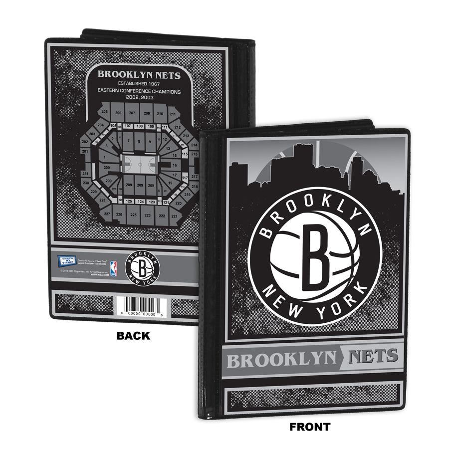 Brooklyn Nets 4x6 Photo Album Brag Book