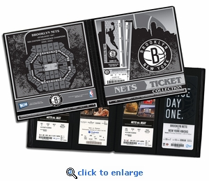 Brooklyn Nets Ticket Album