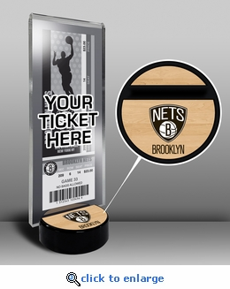 Brooklyn Nets Ticket Display Stand