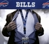 Buffalo Bills NFL Lanyard Key Chain and Ticket Holder - Blue