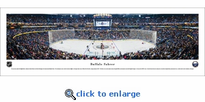 Buffalo Sabres - Center Ice - Panoramic Photo (13.5 x 40)