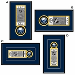 Buffalo Sabres Single Ticket Frame