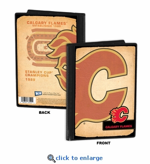 Calgary Flames 4x6 Photo Album / Brag Book