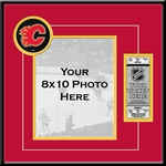 Calgary Flames 8x10 Photo Ticket Frame