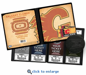 Calgary Flames Ticket Album