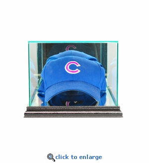 Baseball Hat / Cap Display Case - Black