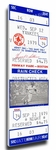Carl Yastrzemski 3,000 Hit Canvas Mega Ticket - Boston Red Sox