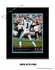 Carolina Panthers Personalized Quarterback Action Print