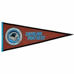 Carolina Panthers Pigskin Pennant (13 x 32)