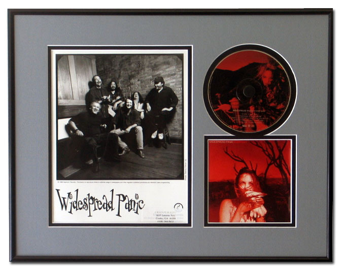 CD, Cover Art and 8x10 Photo Display Frame