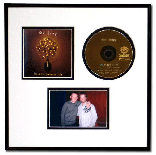 CD, Cover Art and 4x6 Photo Display Frame