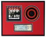 CD, Cover Art and Ticket Display Frame
