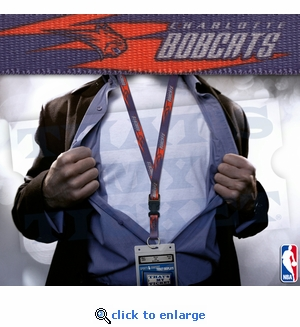 Charlotte Bobcats Lanyard with Ticket Holder