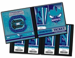 Charlotte Hornets Ticket Album