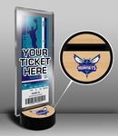 Charlotte Hornets Ticket Display Stand