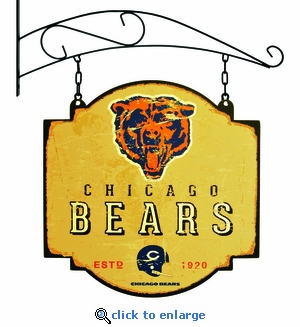 Chicago Bears 16 X 16 Metal Tavern / Pub Sign