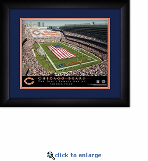 Chicago Bears Personalized Soldier Field Print