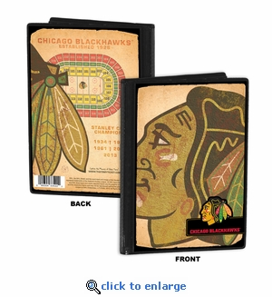 Chicago Blackhawks 4x6 Photo Album / Brag Book