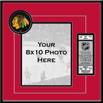 Chicago Blackhawks 8x10 Photo Ticket Frame