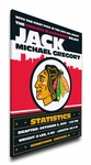 Chicago Blackhawks Personalized Canvas Birth Announcement - Baby Gift