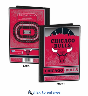 Chicago Bulls 4x6 Photo Album / Brag Book