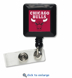 Chicago Bulls Retractable Ticket Badge Holder