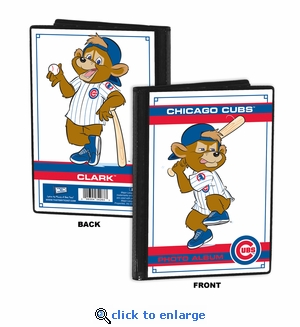 Chicago Cubs Mascot 4x6 Mini Photo Album - Clark
