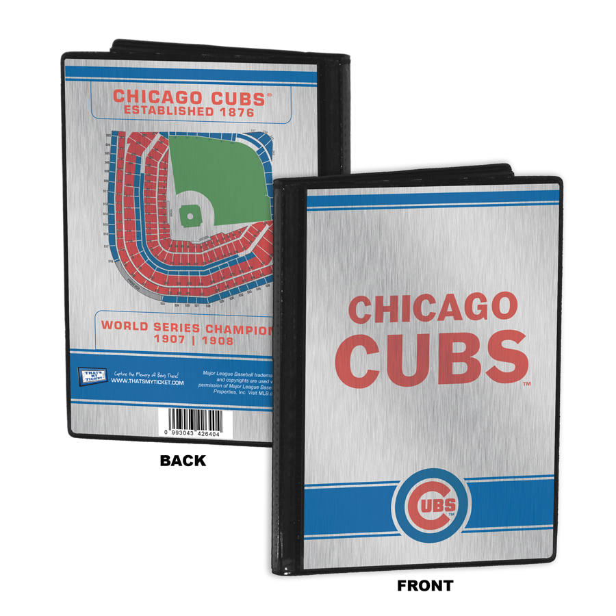 chicago cubs 4x6 mini photo album - 4x6 Photo Albums