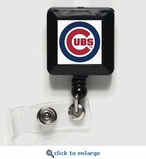 Chicago Cubs Retractable Ticket Badge Holder