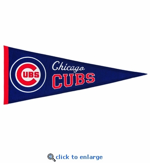 Chicago Cubs Traditions Wool Pennant (13 x 32)