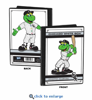 Chicago White Sox Mascot 4x6 Mini Photo Album - Southpaw