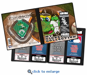 Chicago White Sox Mascot Ticket Album - Southpaw