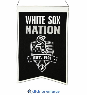 Chicago White Sox Nations Wool Banner (14 x 22)