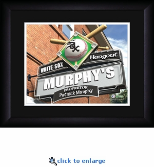 Chicago White Sox Personalized Sports Room / Pub Print