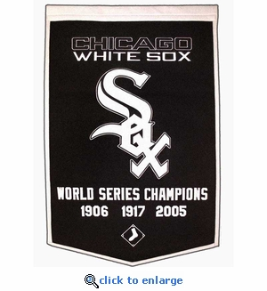 Chicago White Sox World Series Dynasty Wool Banner (24 x 36)
